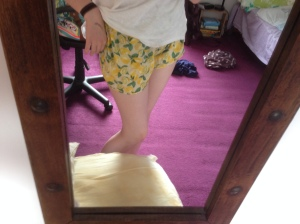Lemon shorts from Primark